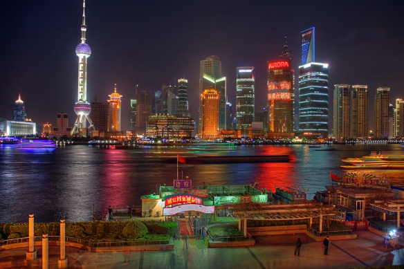 Pudong, Shang Hai. Source: SF Brit, Creative Commons.