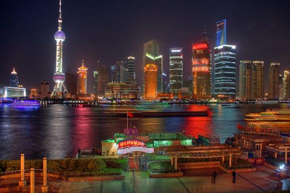 Pudong, Shang Hai. Source: SF Brit, Creative Commons.