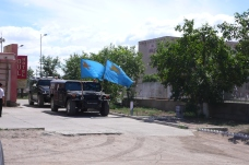 Expensive jeeps for the parliamentary election campaign of 2008. Khövsgöl province.