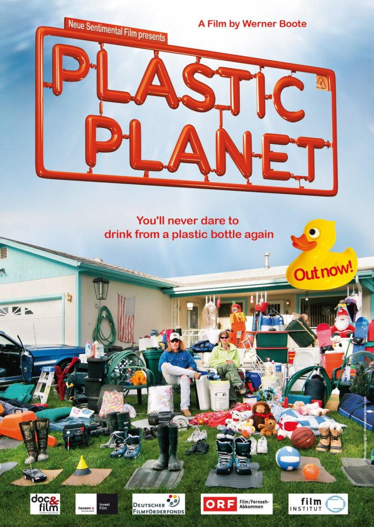 Film poster: Plastic Planet.