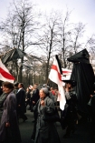 """The """"Chernobyl March"""" in Minsk, Belarus, on 26 April 1996, the tenth anniversary of the Chernobly disaster (photo by author)."""