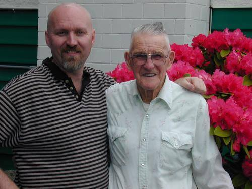 Derryl and Bud Murphy. Photo courtesy Derryl Murphy.