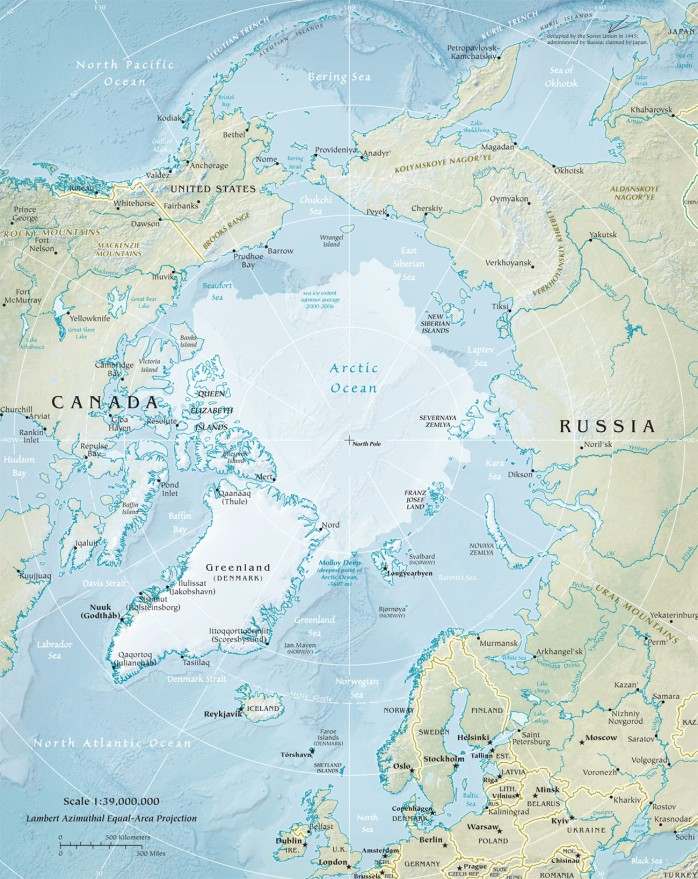 The global Arctic.