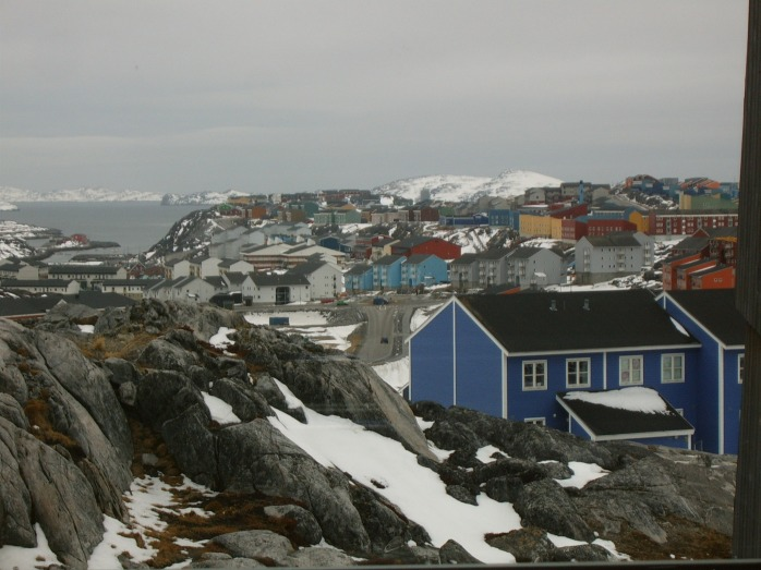 Nuuk in May 2013.