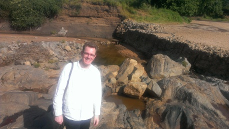 In Kenya on the site of a sand storage dam.