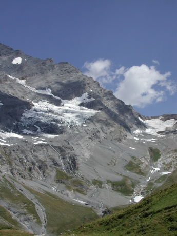 Dalatal, Switzerland—Retreated Glacier. Photograph: Sarah Strauss, 2003 ©