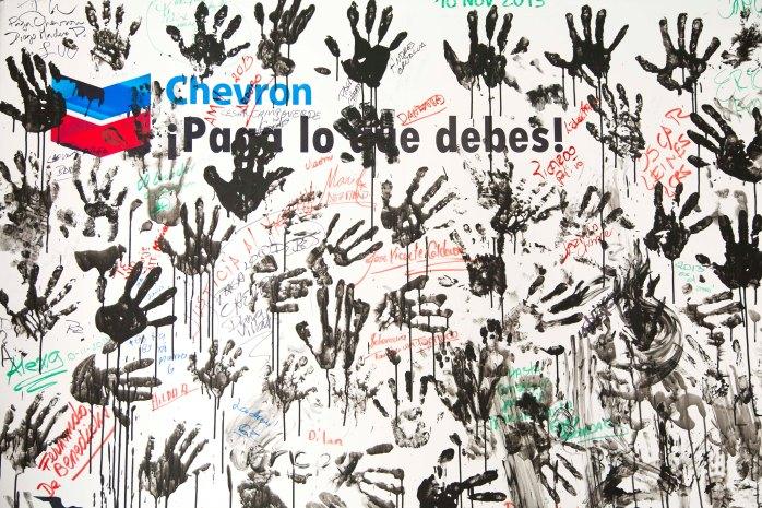 Caso Chevron - Texaco, conversatorio con prensa extranjera