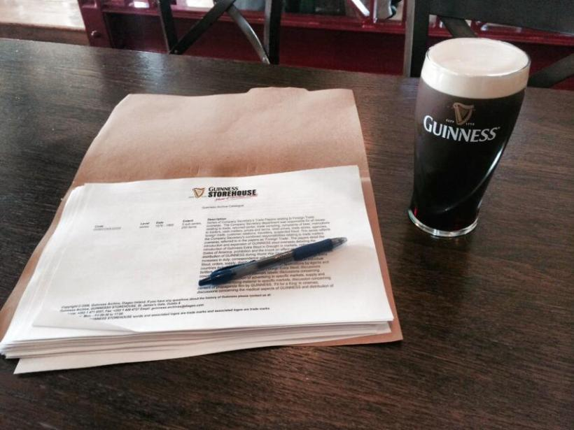 Guinness Storehouse Research