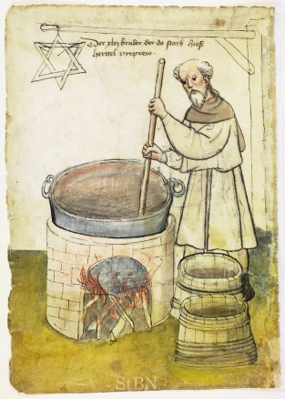 Image result for medieval brewing images
