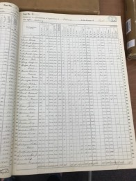 Photo by author. United States. Bureau of the Census: United States Census Schedules for Wisconsin, 1870, Series 1677, Volume 7, Sauk County, Wisconsin Historical Society.