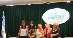 A panel on the challenges of ecofeminism in Argentina preceded the awards ceremony.